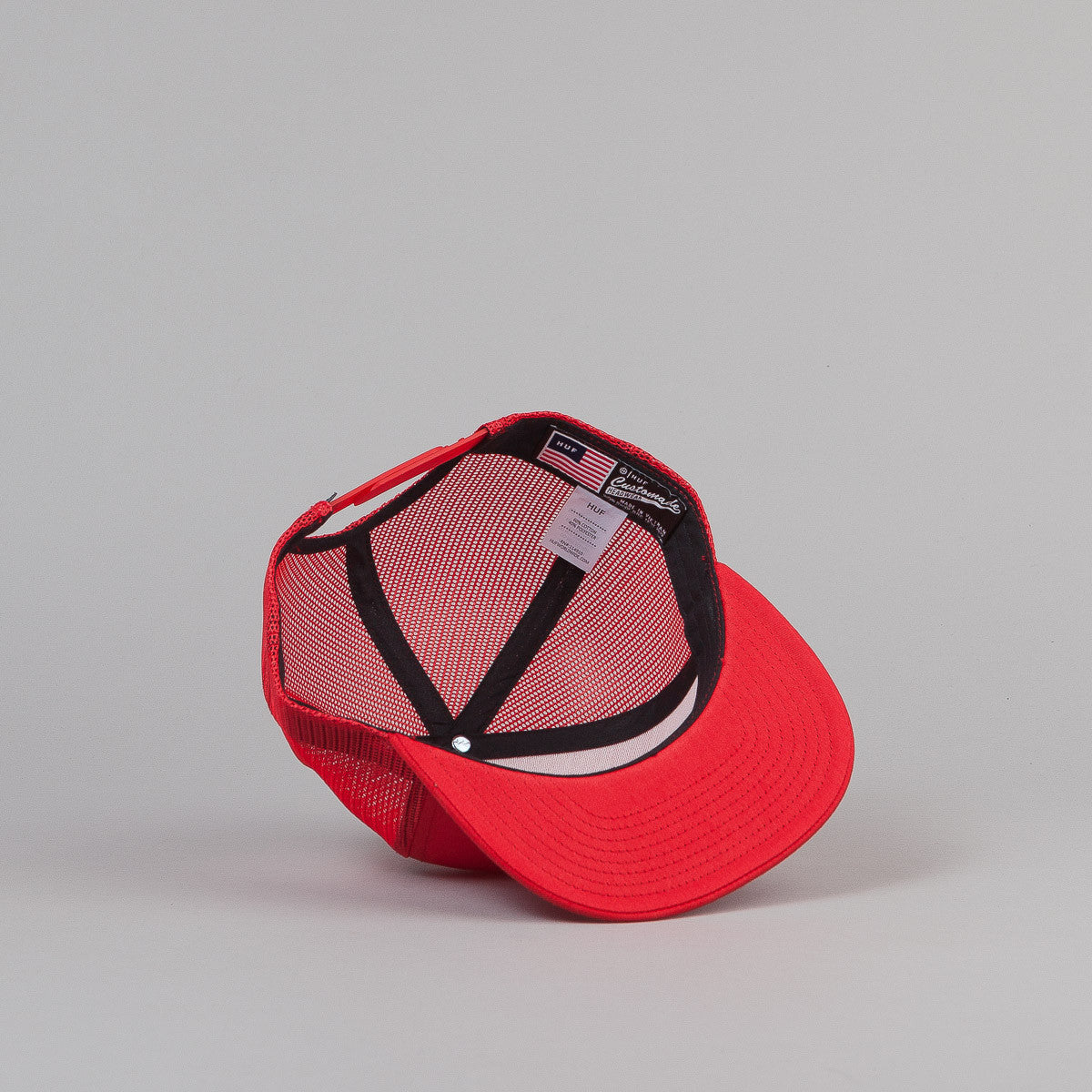 HUF X Slap Trucker Cap - Red