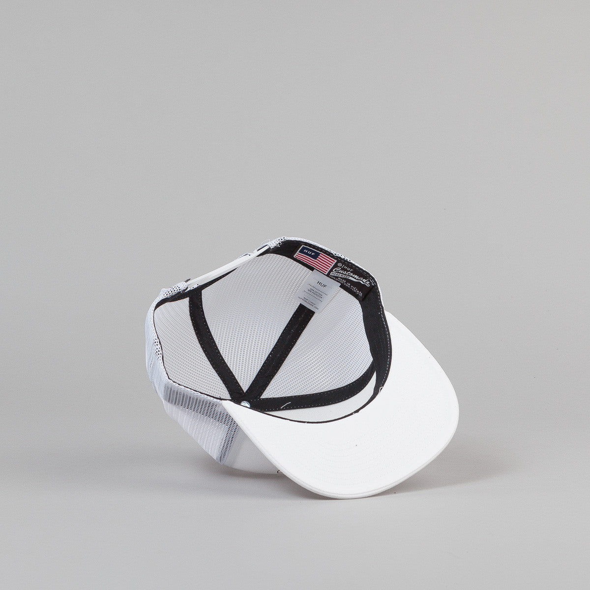 HUF X Slap Trucker Cap - White