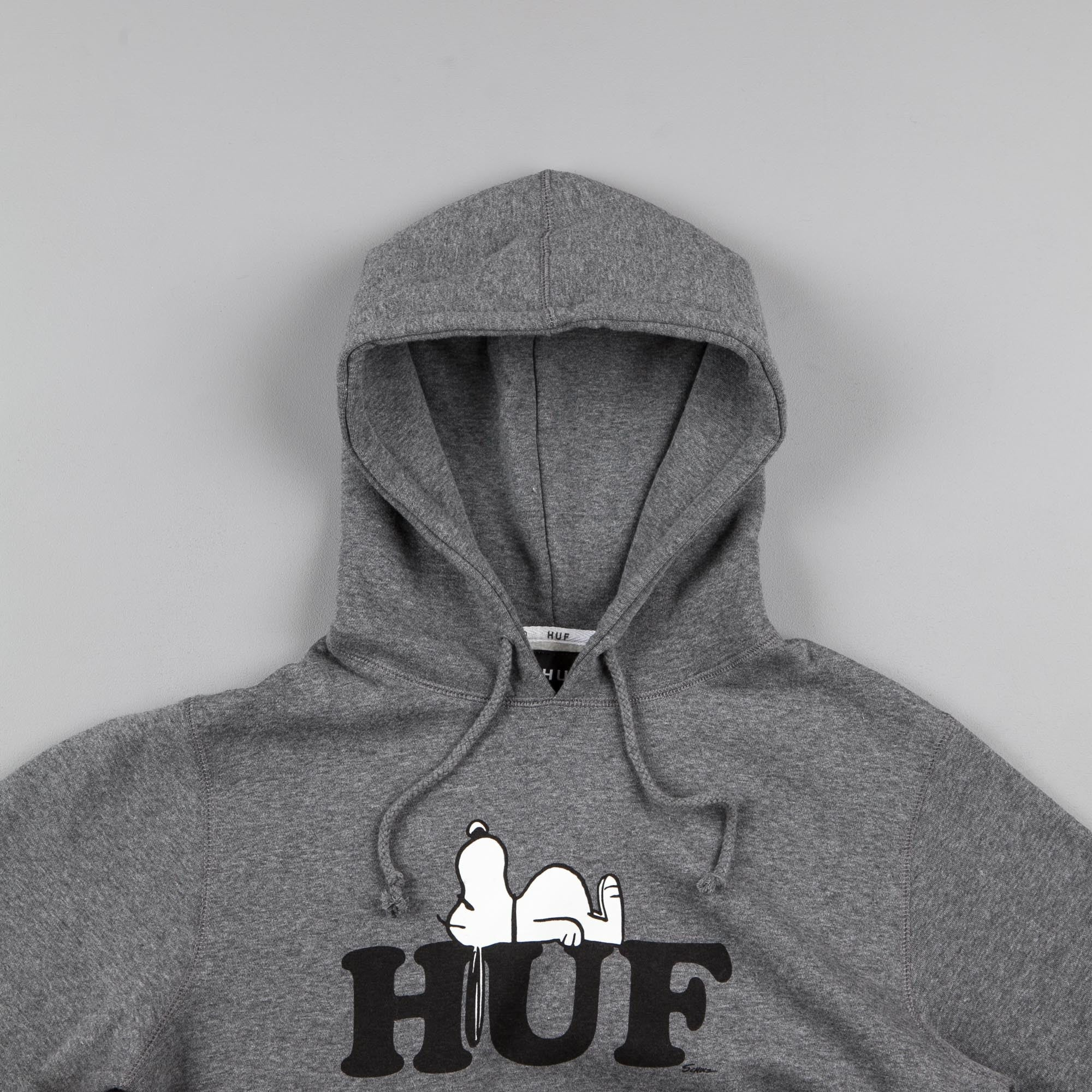HUF x Snoopy Hooded Sweatshirt - Grey Heather