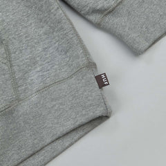 HUF X Spitfire Box Logo Hooded Sweatshirt - Grey Heather