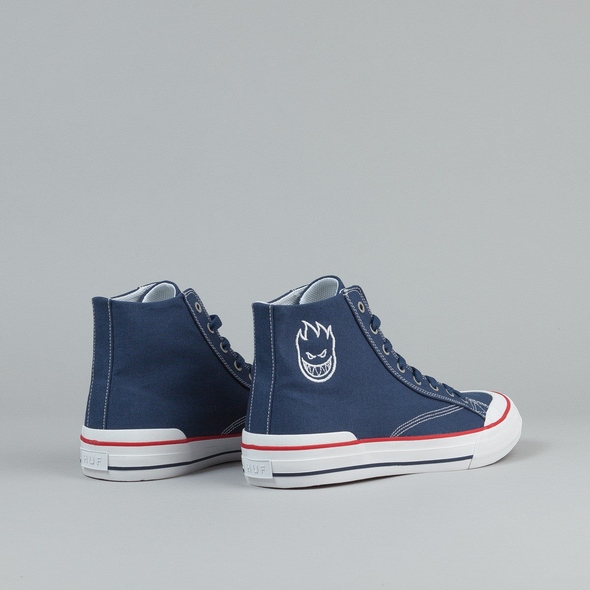 HUF X Spitfire Classic Hi Shoes - Navy