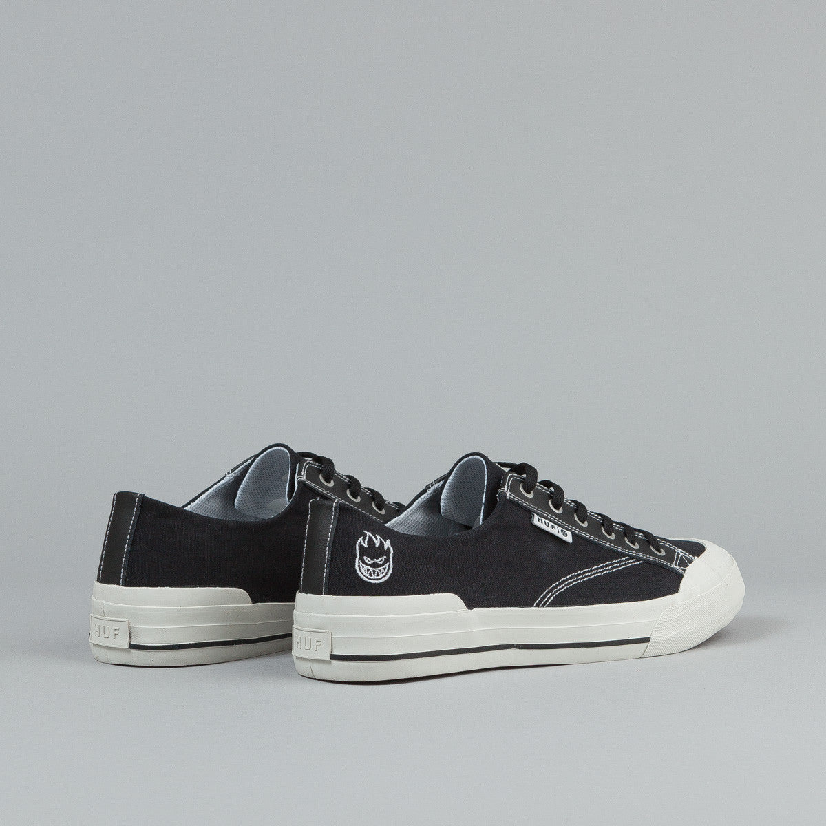 HUF X Spitfire Classic Lo Shoes - Black