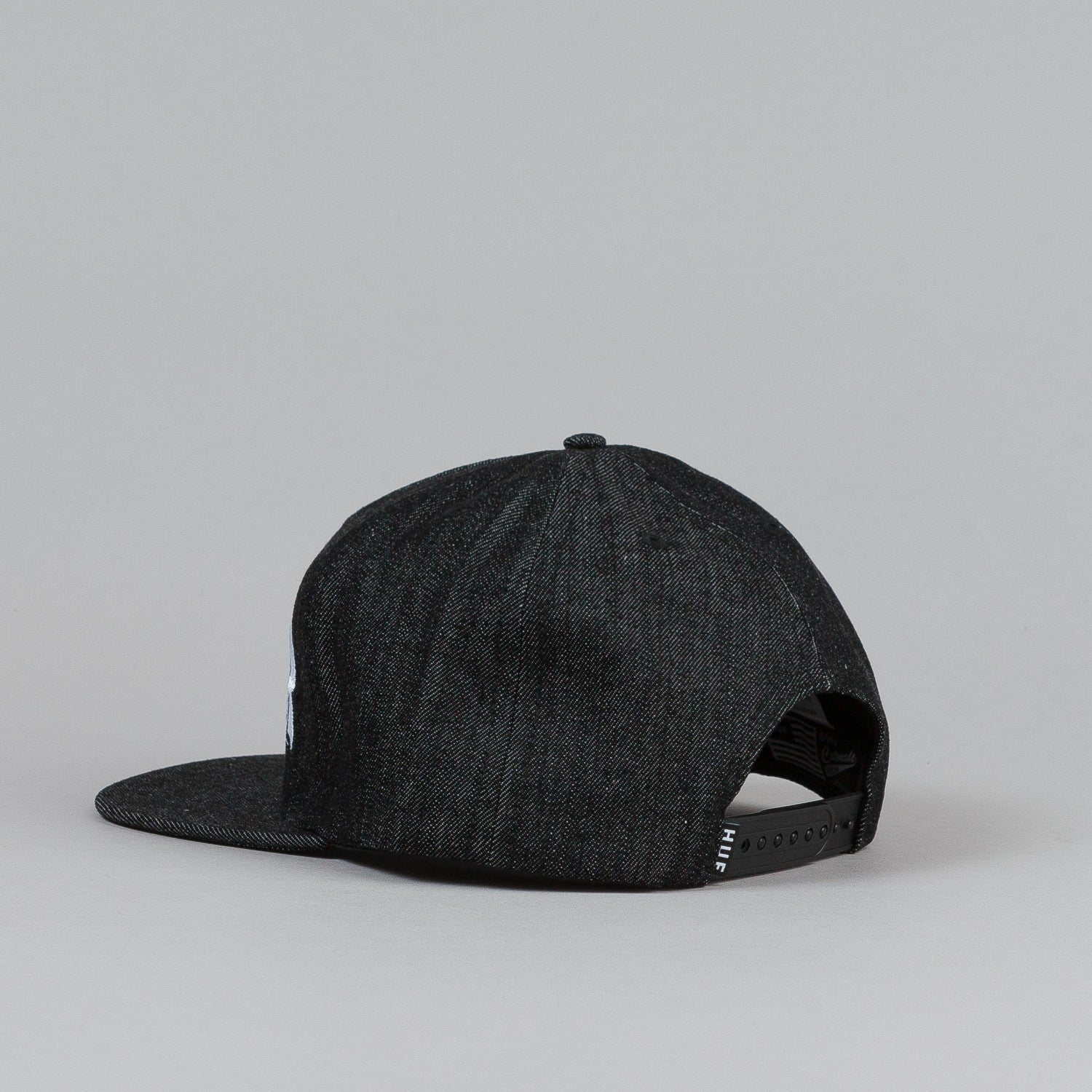 HUF X Thrasher Asia Tour Snapback Cap Black Denim