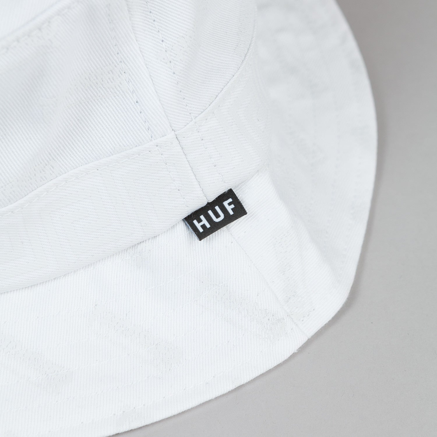 HUF X Thrasher Bucket Hat White