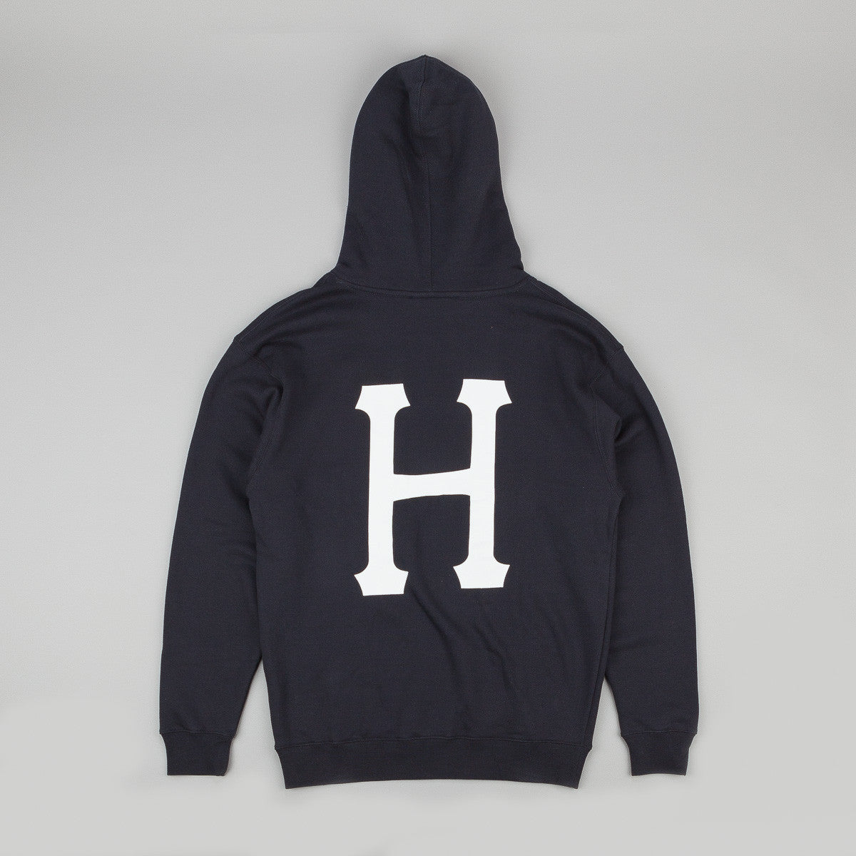 HUF x Thrasher Classic H Pullover Hooded Sweatshirt - Navy