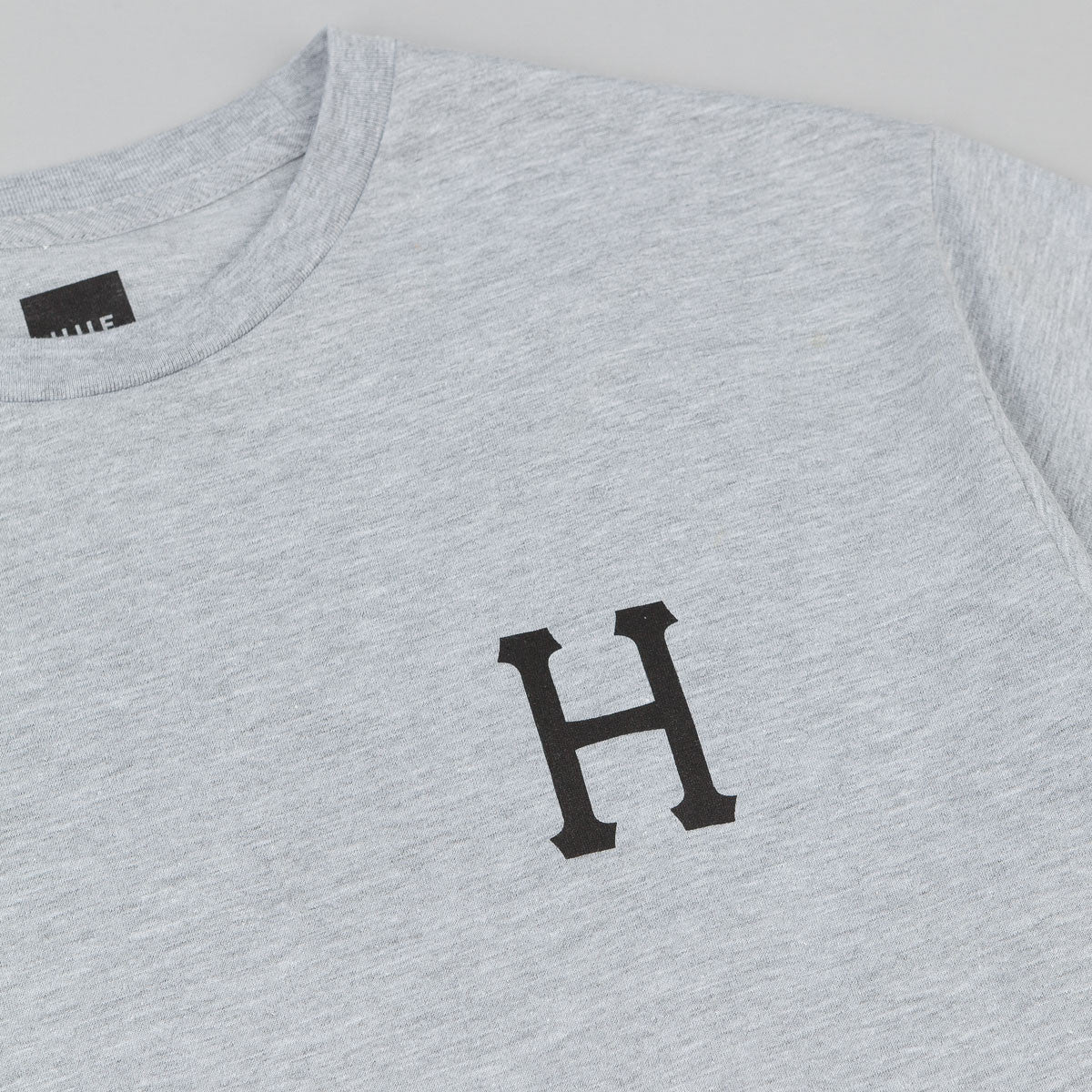 HUF x Thrasher Classic H T-Shirt - Heather Grey