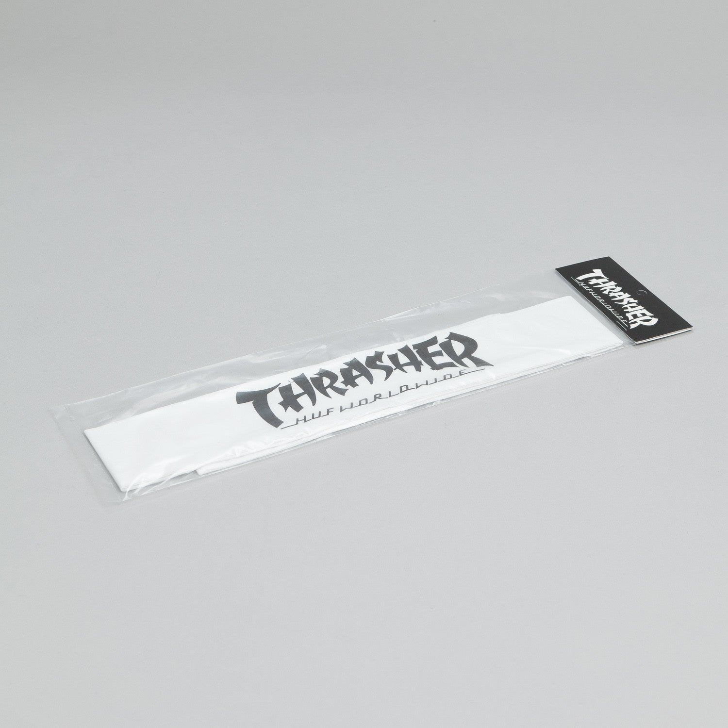 HUF X Thrasher Headband White