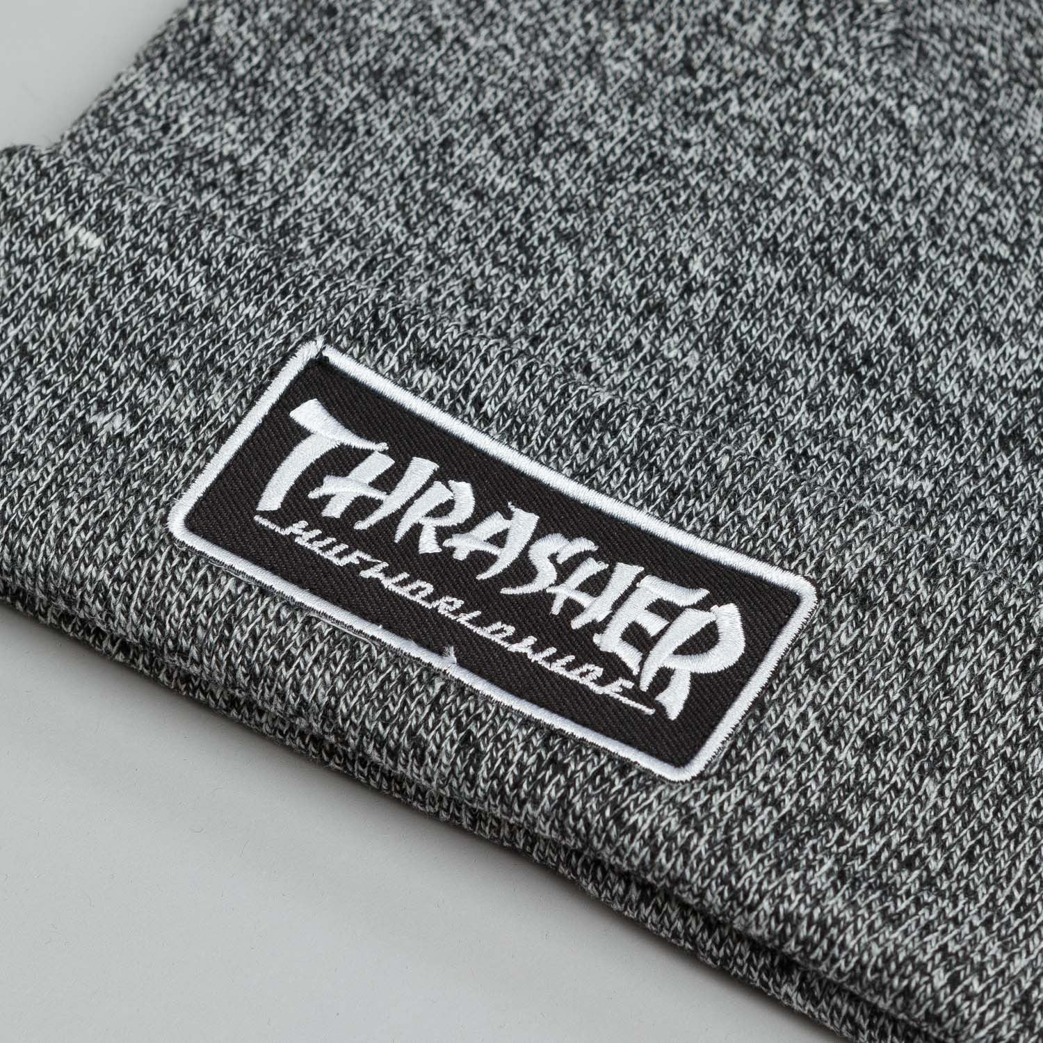 HUF X Thrasher Mixed Yarn Beanie Black / White