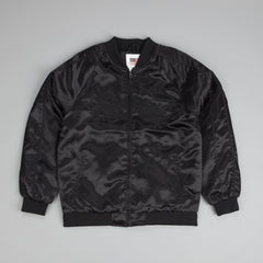 Huf X Thrasher Satin Souvenir Jacket Black