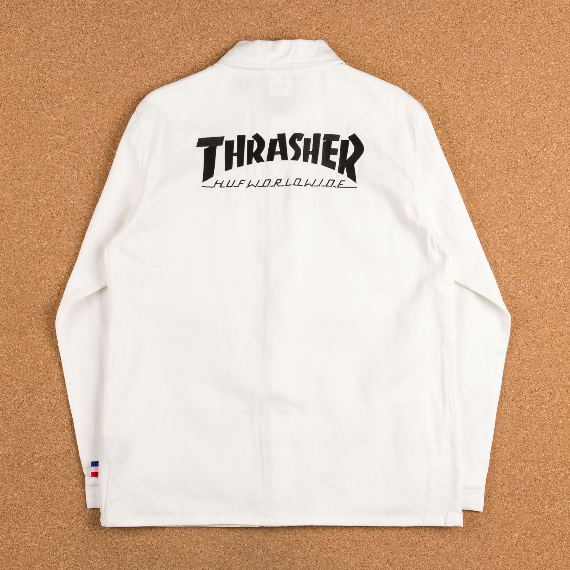 HUF x Thrasher TDS Chore Jacket - Off White