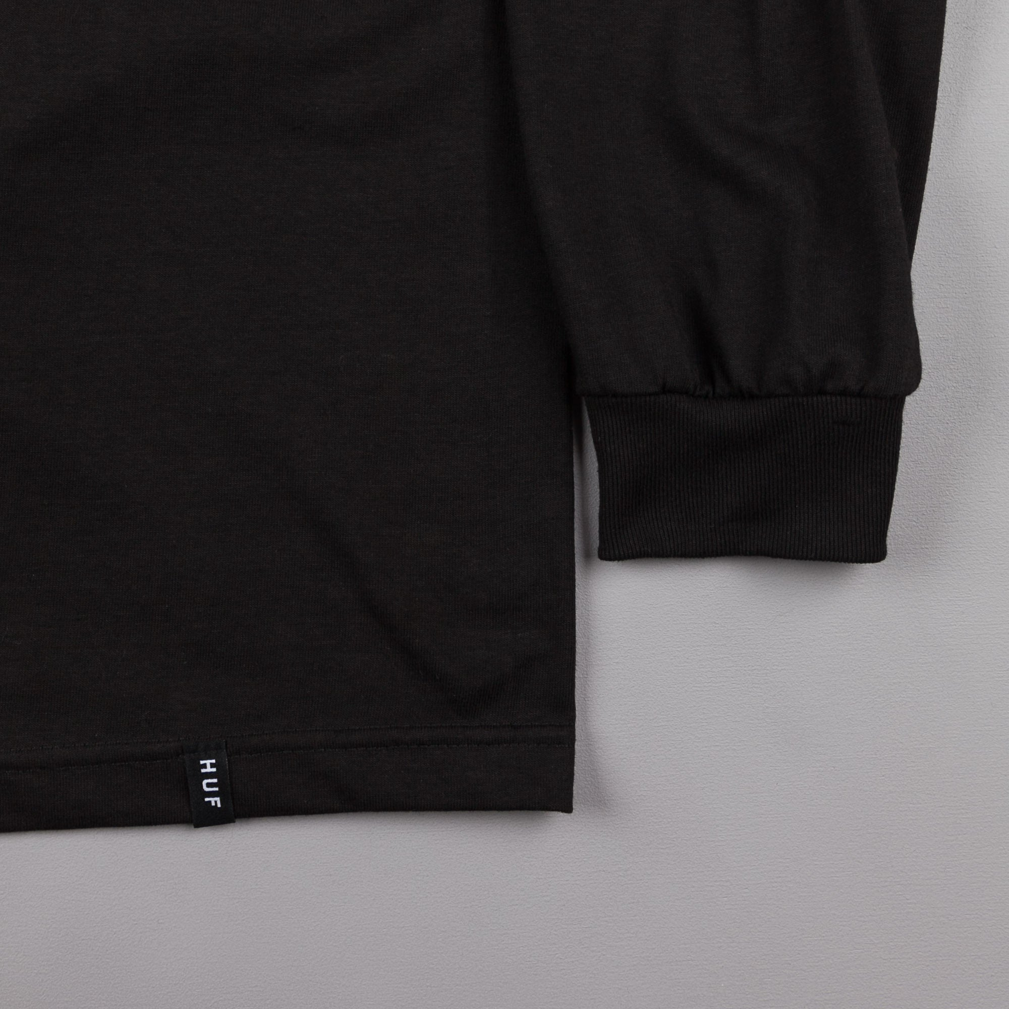 HUF x Thrasher TDS Long Sleeve T-Shirt - Black