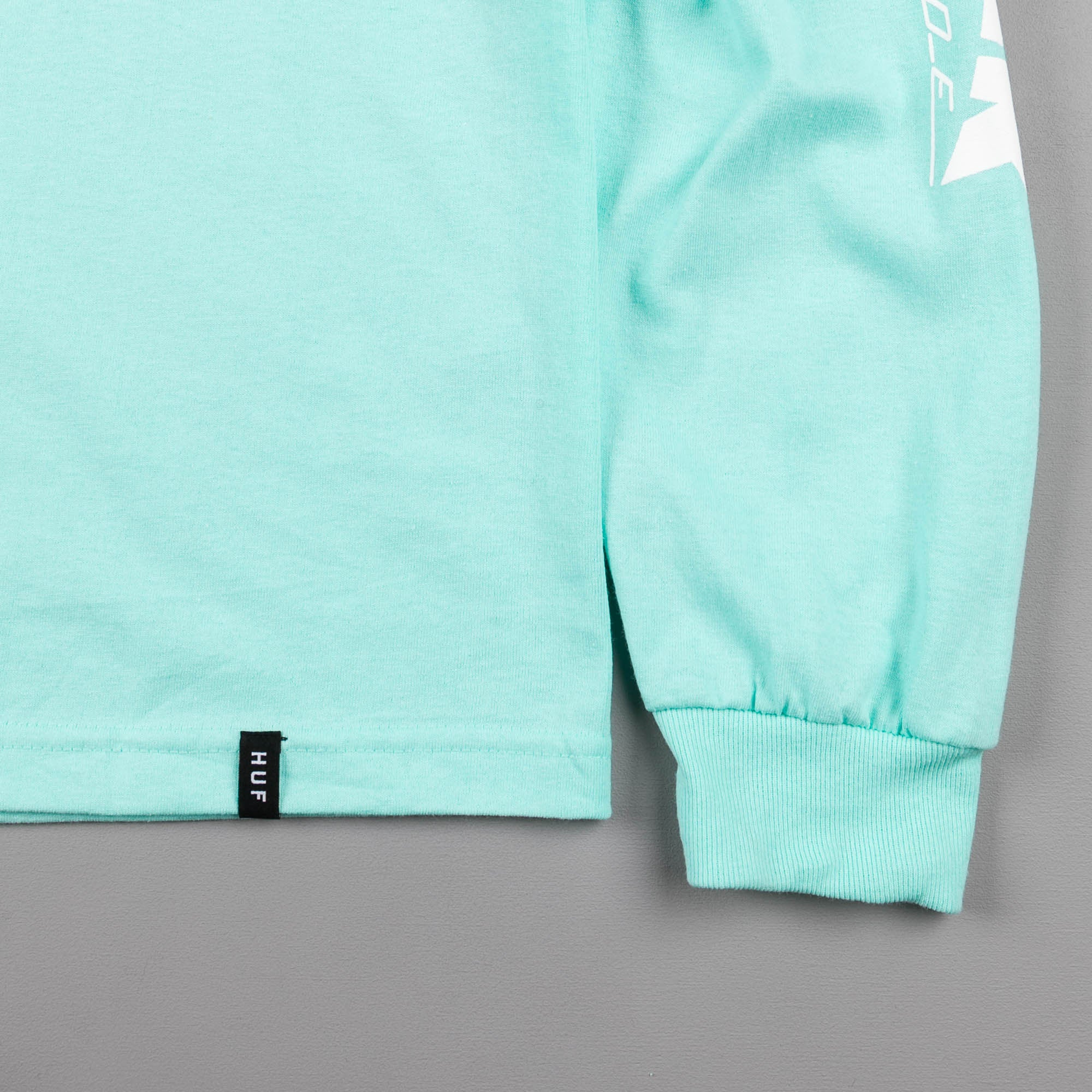 HUF x Thrasher TDS Long Sleeve T-Shirt - Mint