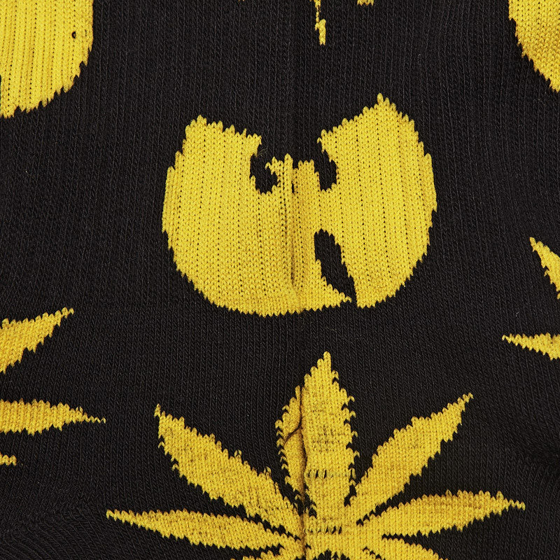 HUF X Wu-Tang Plantlife Socks Black
