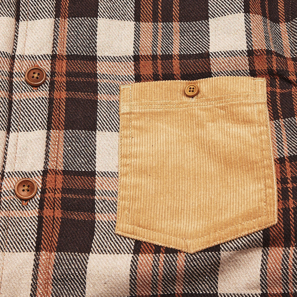 I Love Ugly Boston Overshirt Rusty Check