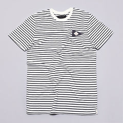 I Love Ugly Pennant T Shirt Black Stripe