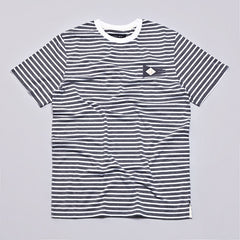 I Love Ugly Pennant T Shirt Grey Stripe