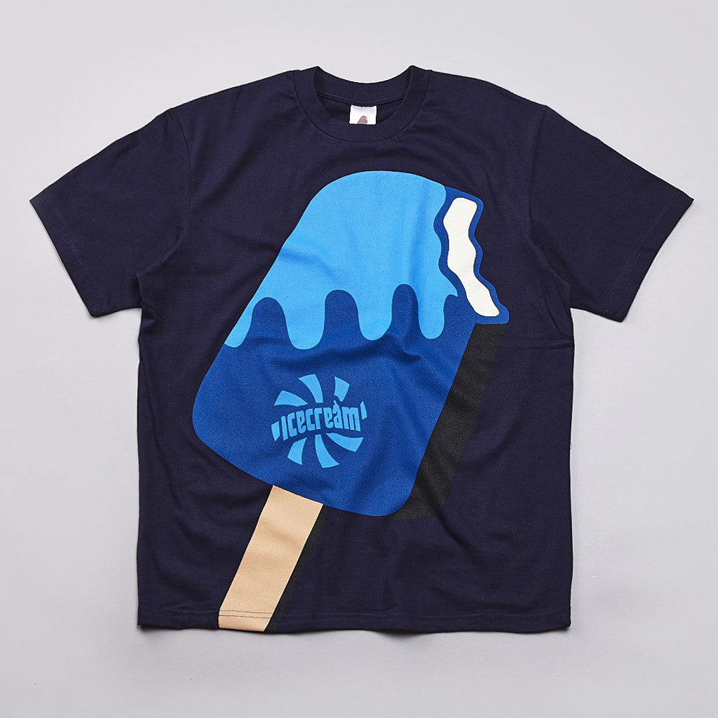 Ice Cream Frost Pop T Shirt Navy