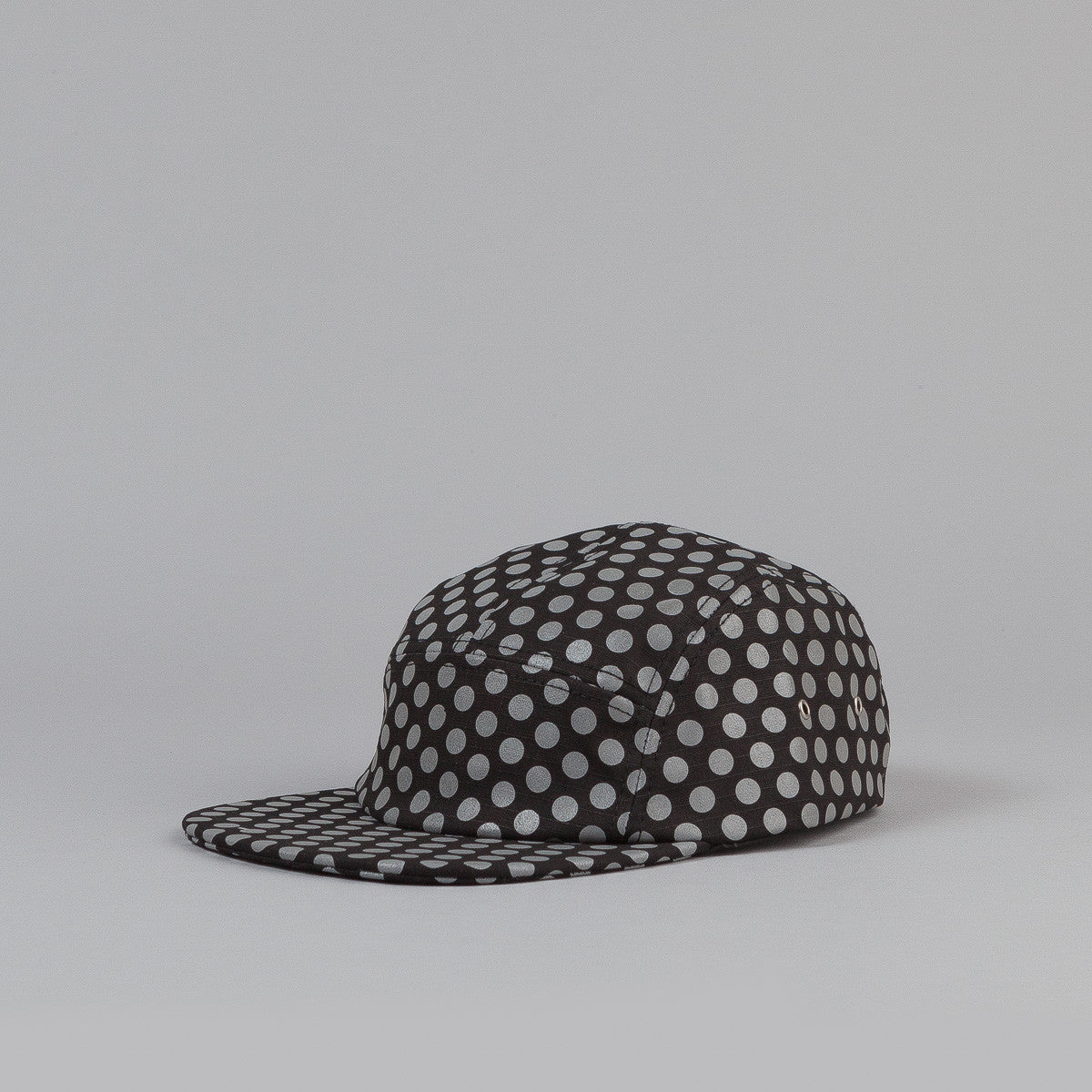 ICNY Dotted 5 Panel cap Black