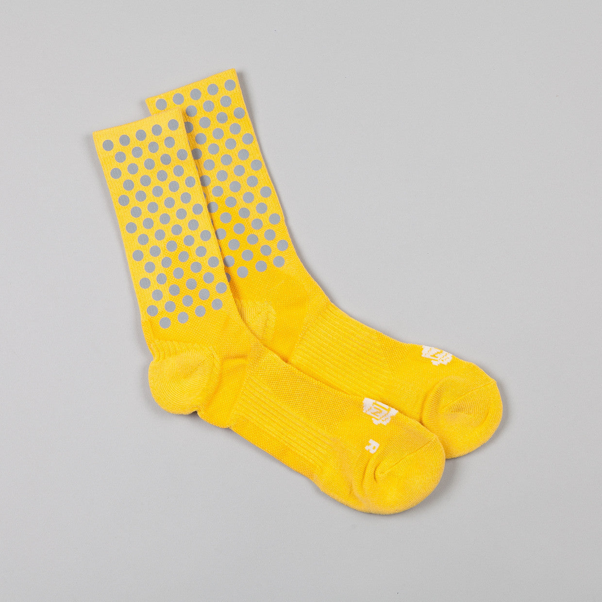 ICNY Half Calf Dot Socks Yellow