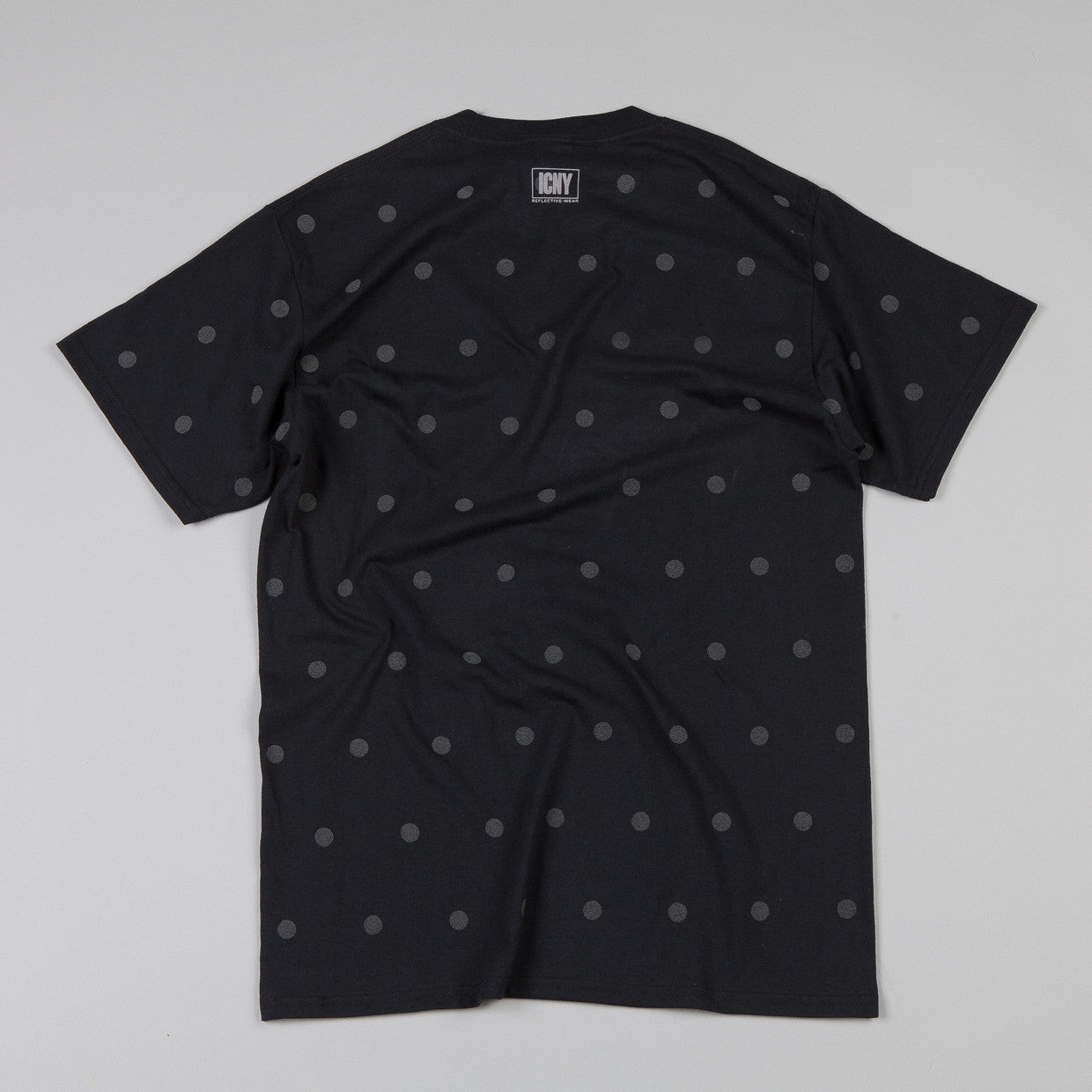 ICNY Polka Dot T Shirt Black