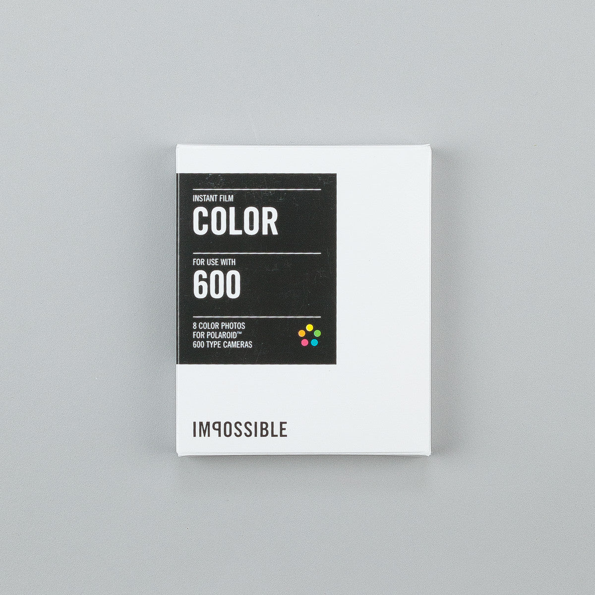 Impossible Colour Film for Polaroid 600 Type Cameras 2.0