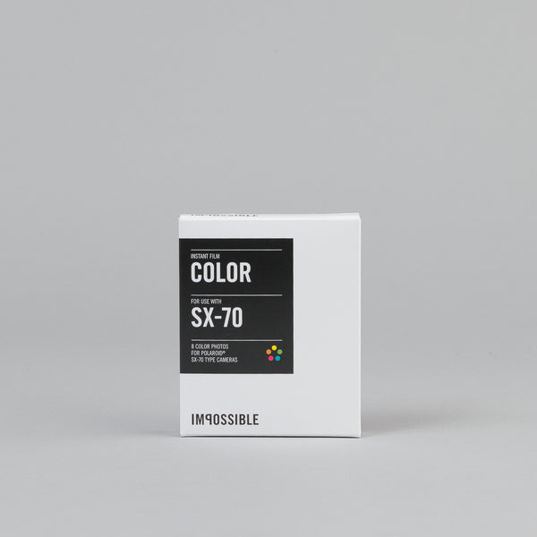 Impossible Colour Film for Polaroid SX-70 Type Cameras