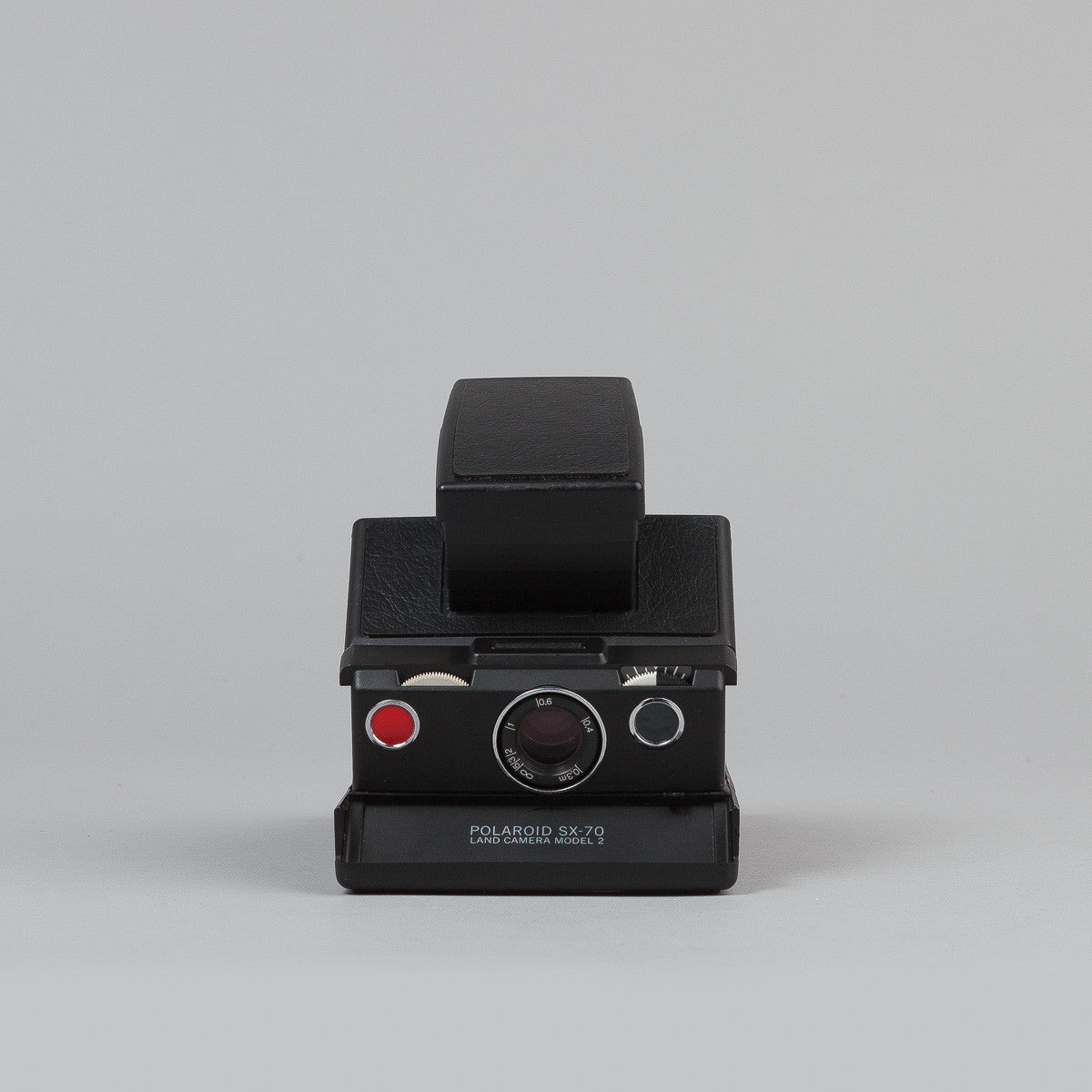 Impossible Polaroid SX-70 Camera - Model 2 - Black / Black Skin