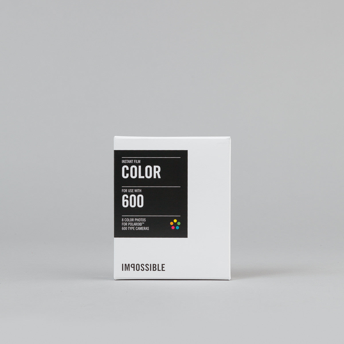 Impossible Refurbished 90s Style Polaroid 600 Camera Kit