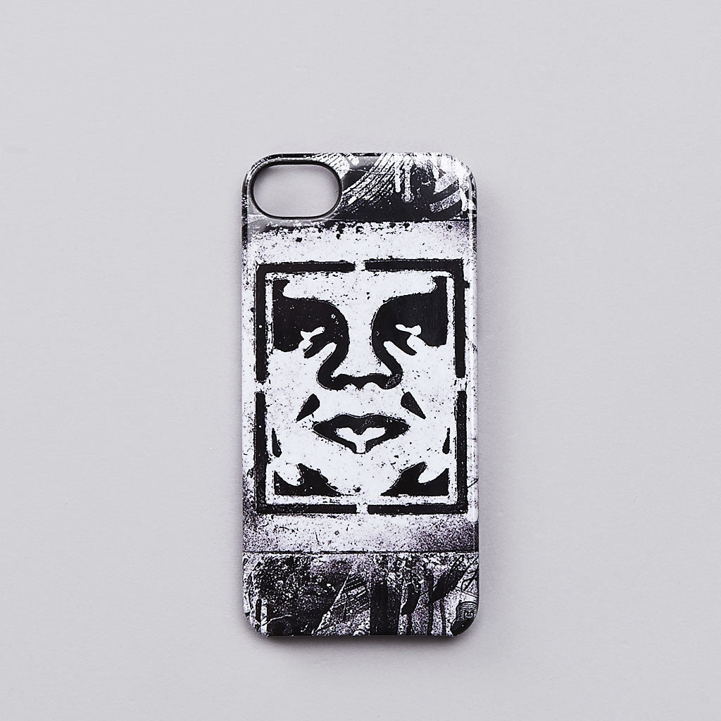 Incase X Shepard Fairey Icon Stencil White iPhone 5 Case