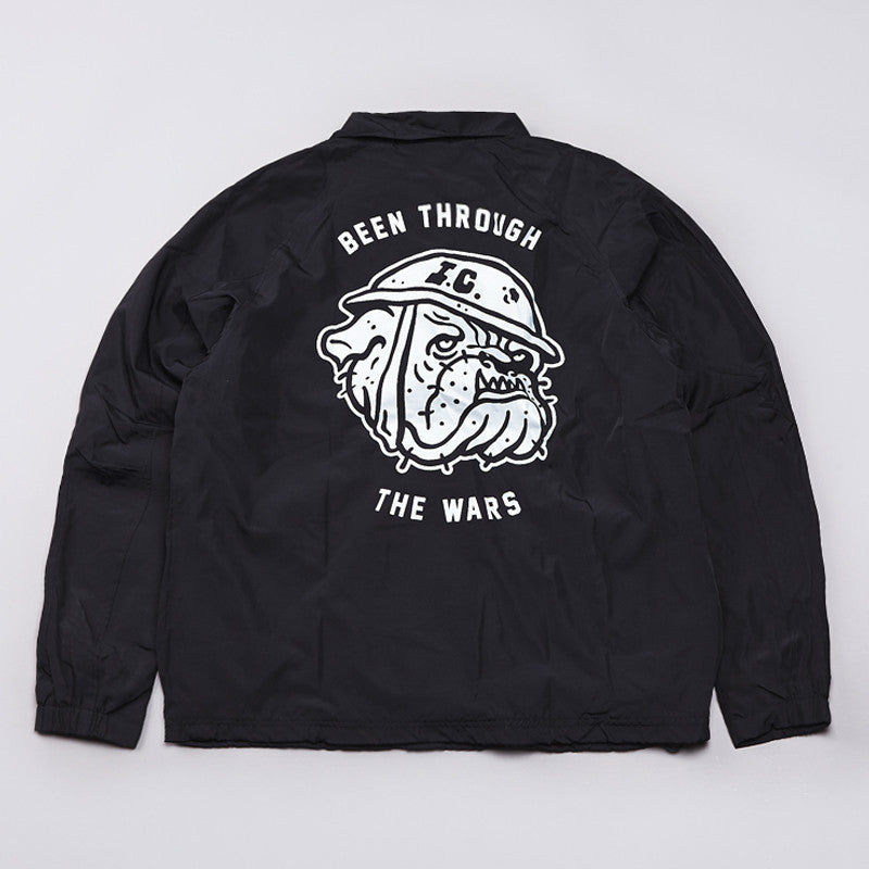 Indcsn Been Through The Wars Jacket Black