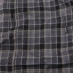 Indcsn Costanza Flannel Shirt Grey / Black