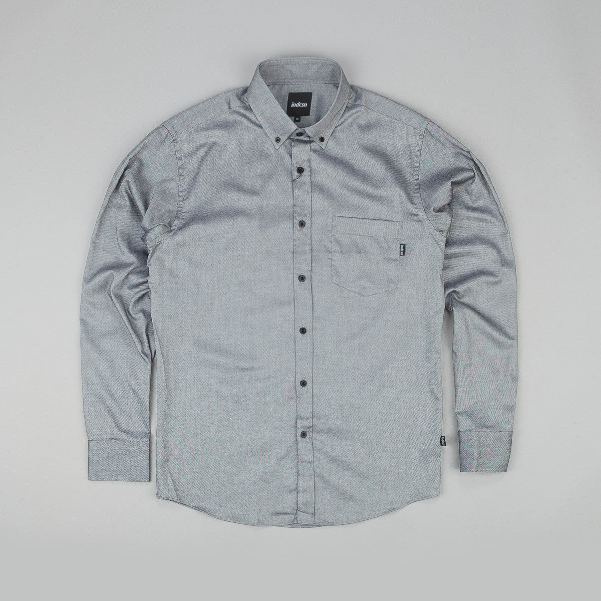 Indcsn Costanza Oxford Shirt Black