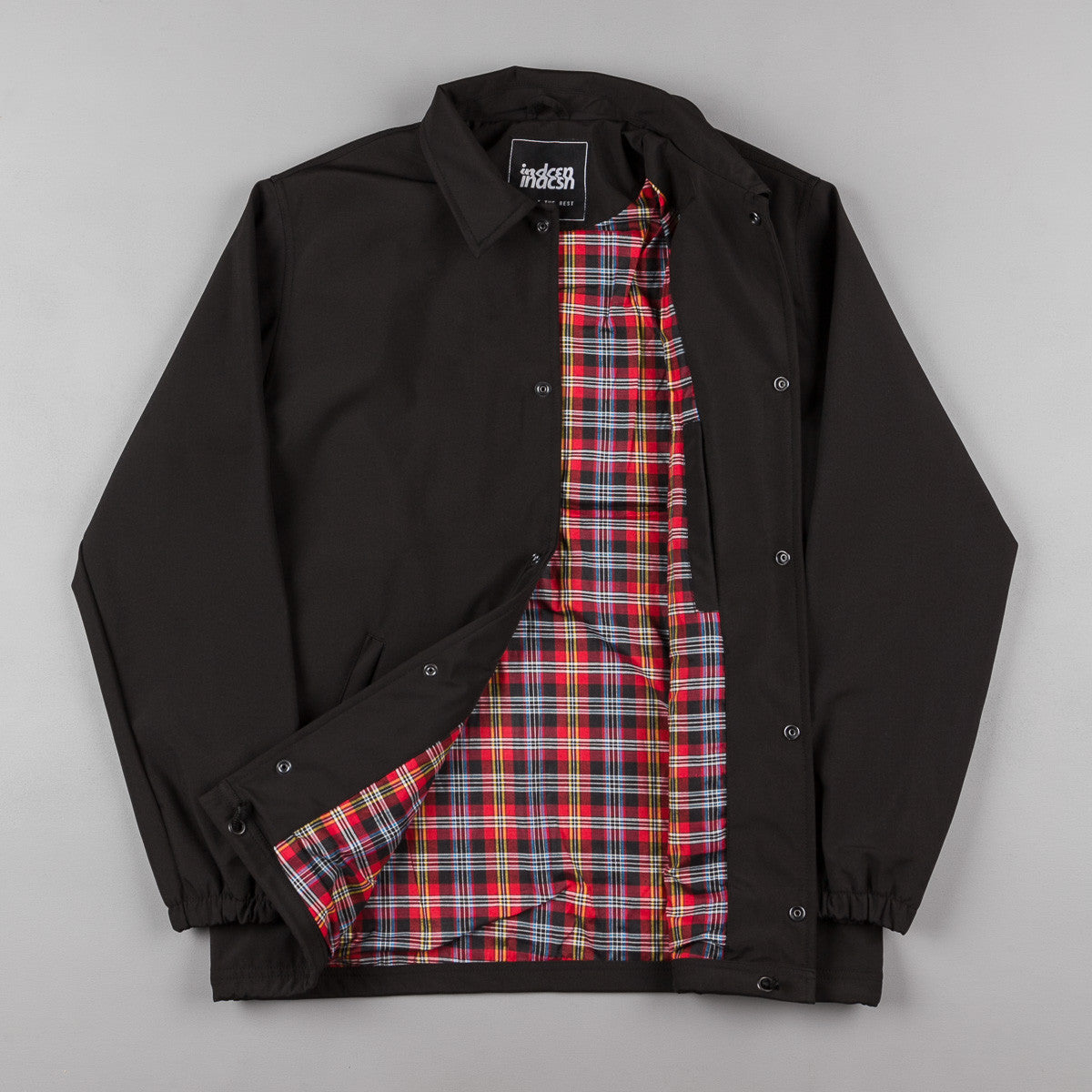 Indcsn Harrington Coach Jacket - Black