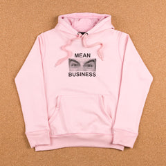 Indcsn Mean Business Hooded Sweatshirt - Pink
