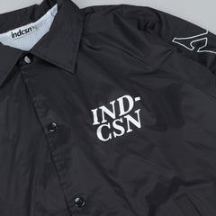 Indcsn Mistake Lxve Coach Jacket - Black