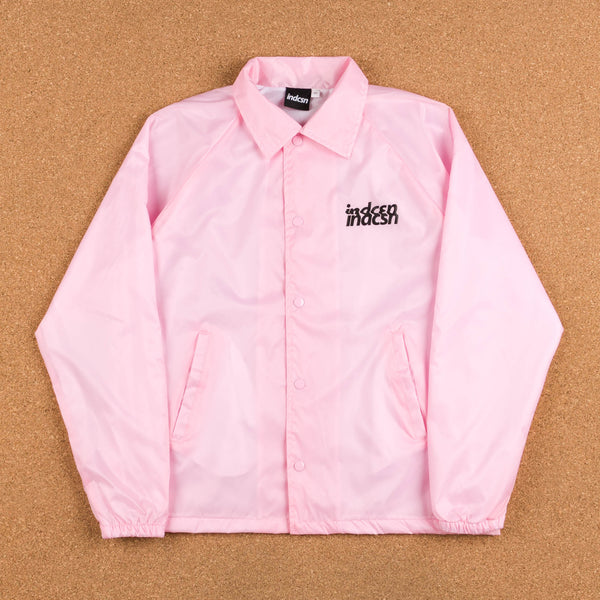 Indcsn No Future Distort Coaches Jacket - Pink