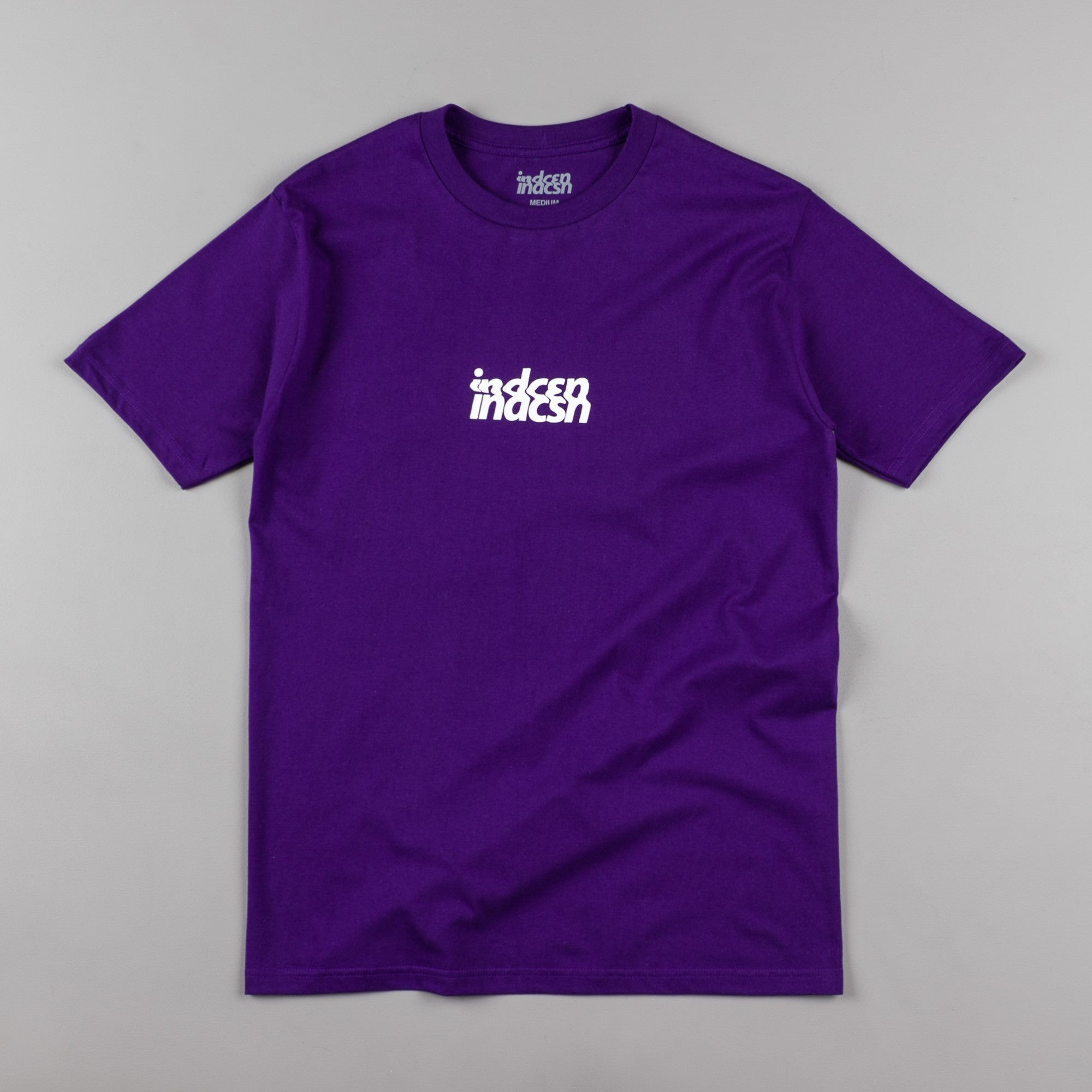 Indcsn No Future Distort T-Shirt - Purple