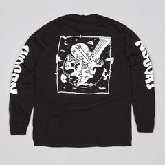 Indcsn Weight Of The World L/S Pocket T Shirt Black