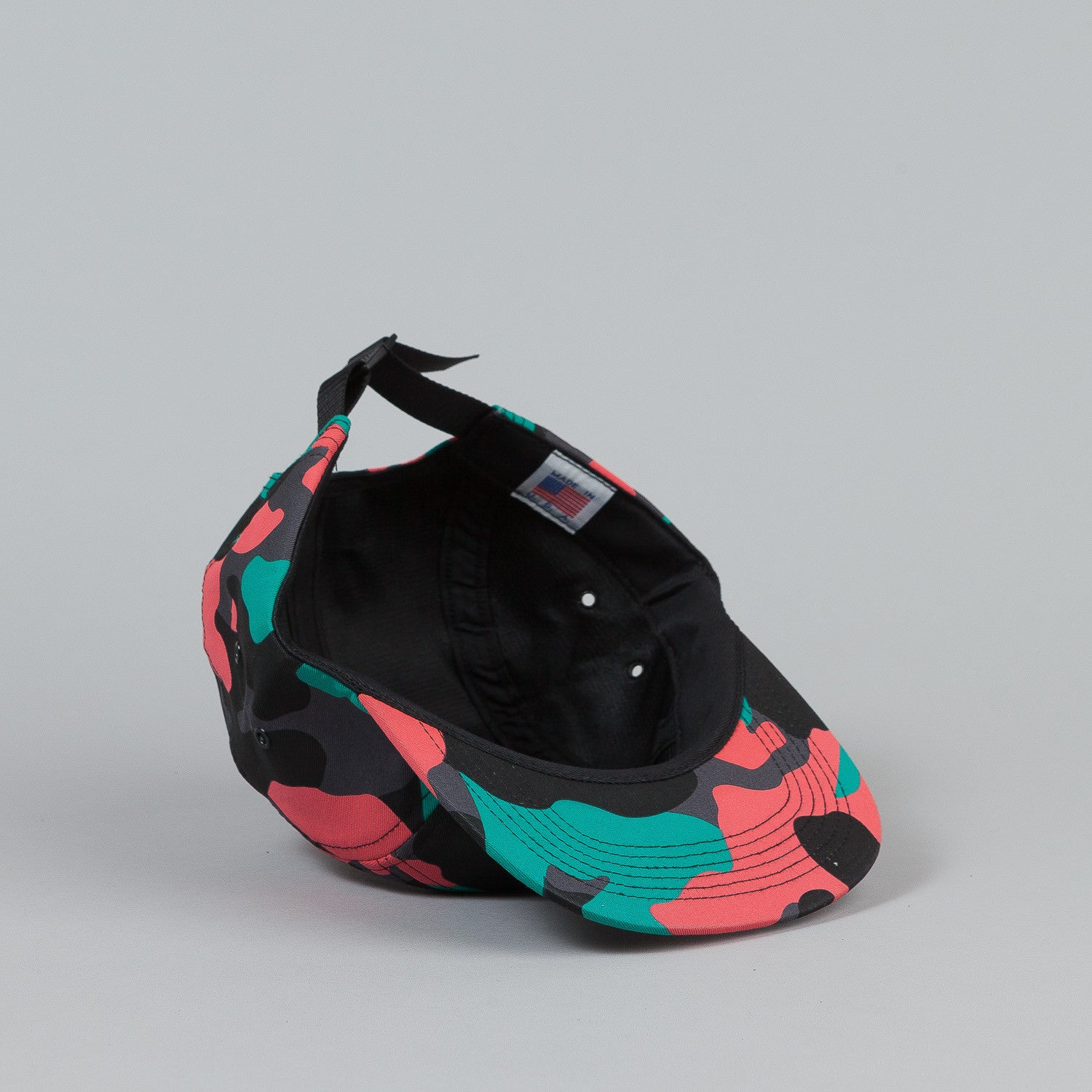 Indcsn Team 5 Panel Cap - All Over Camo