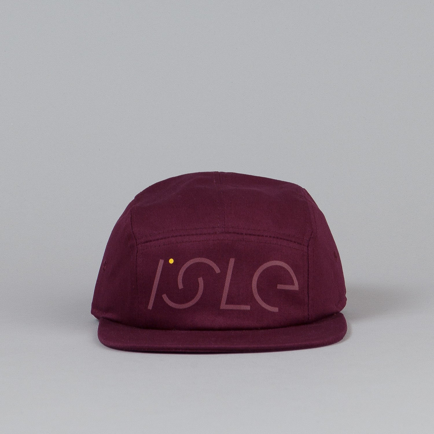Isle 5 Panel Cap Burgundy