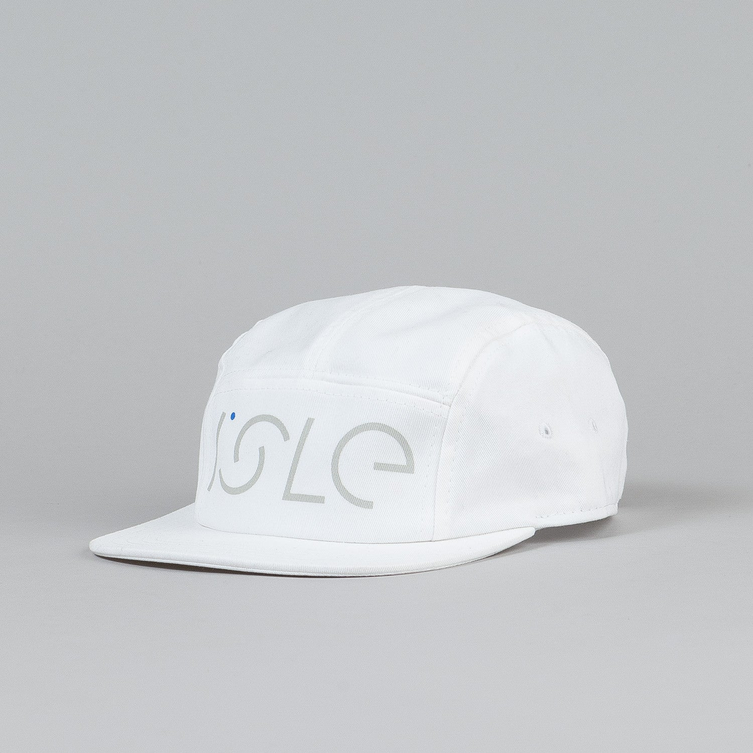 Isle 5 Panel Cap White
