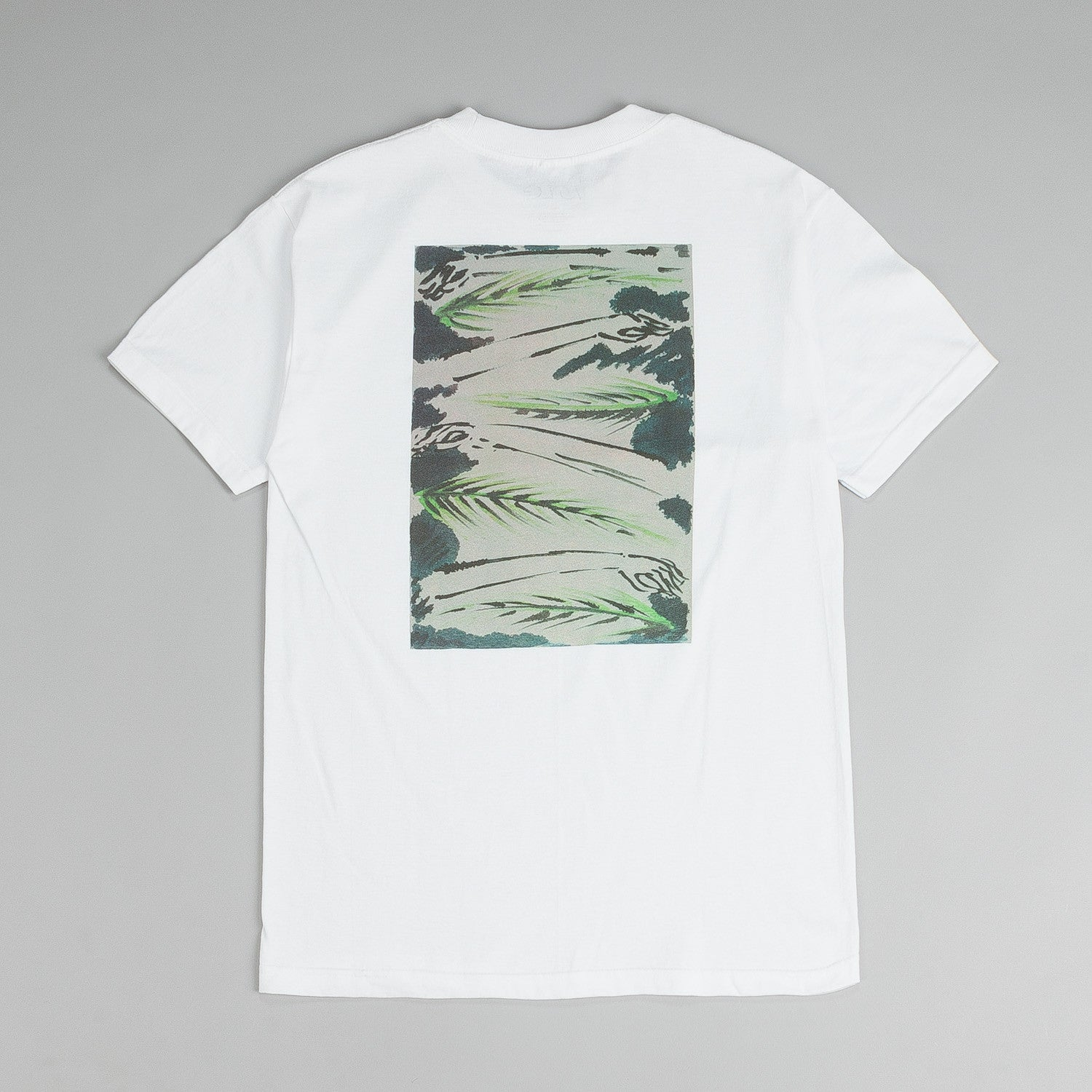 Isle Artist Series T Shirt Arms And Palms White