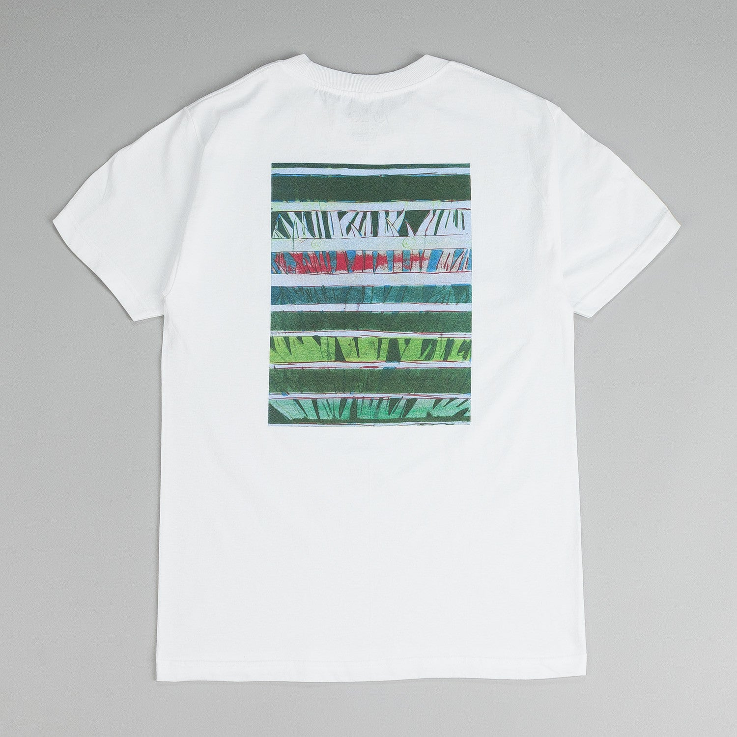 Isle Artist Series T Shirt Blind Palms White