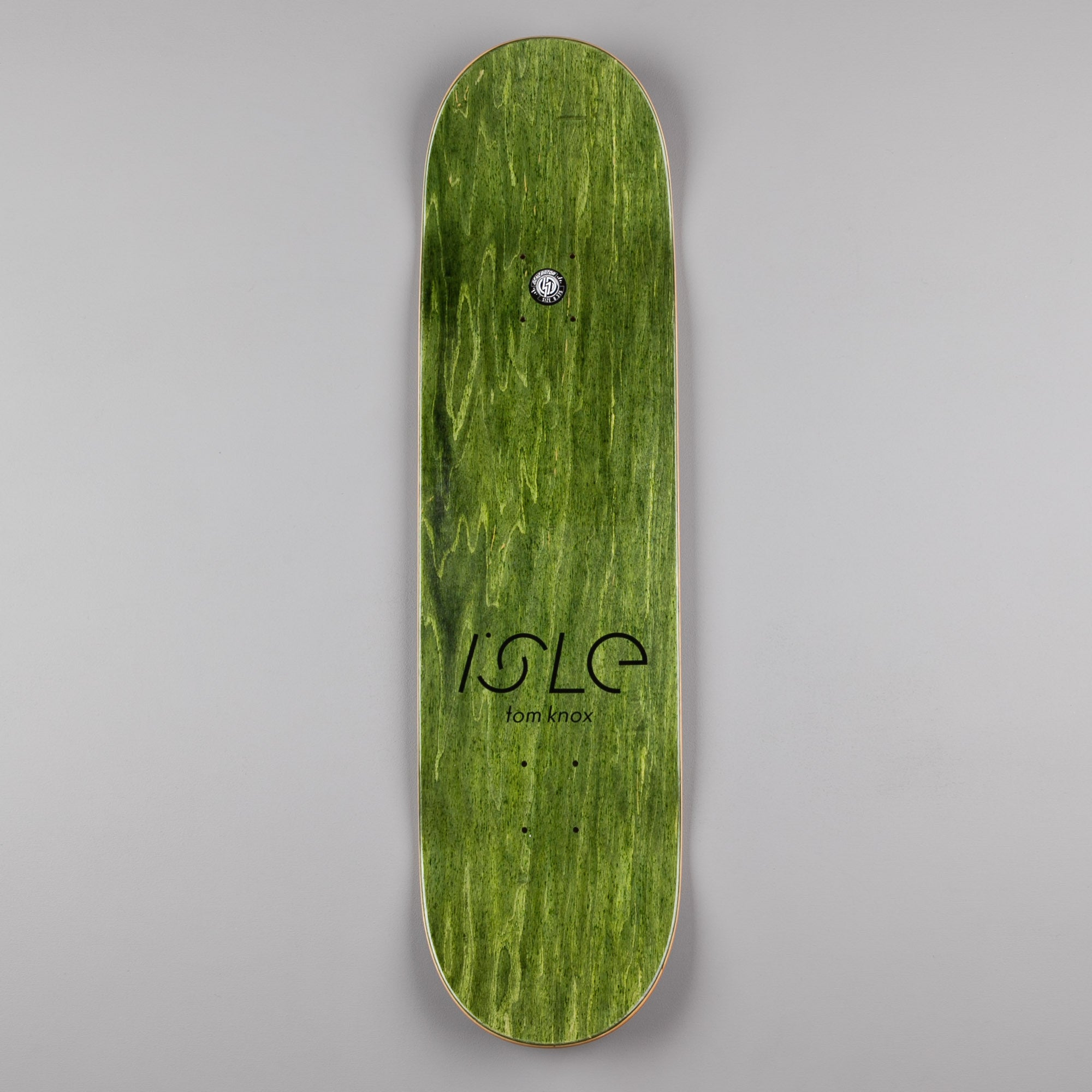 Isle Brush Tom Knox Deck - 8.375""