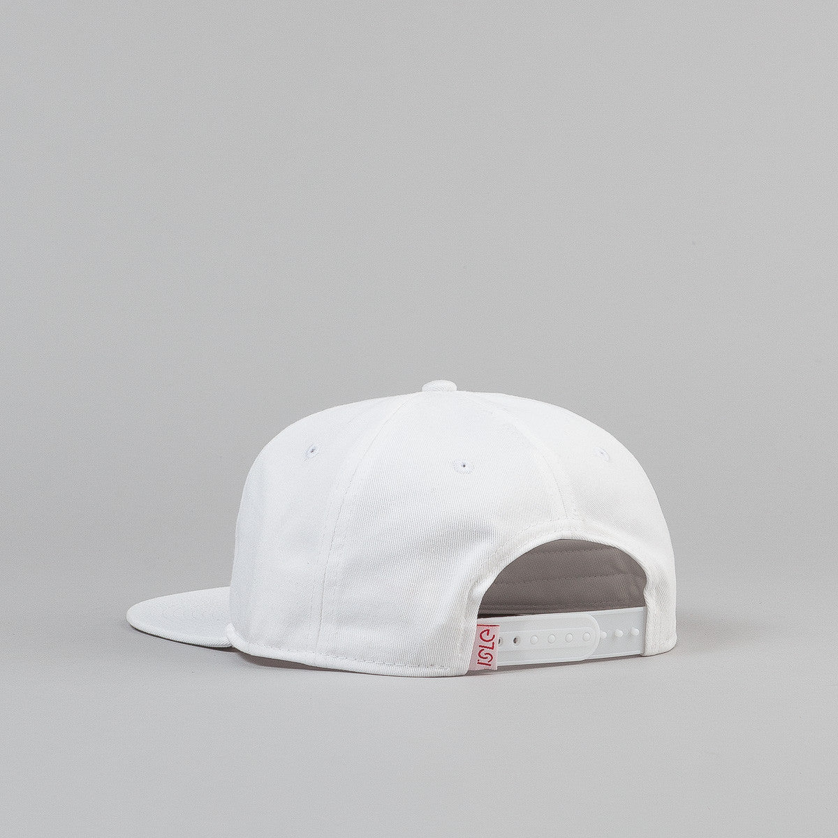 Isle Embroidered Cap - White