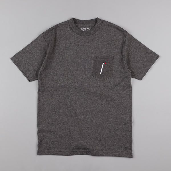 Isle I Logo Pocket T-Shirt - Charcoal Heather