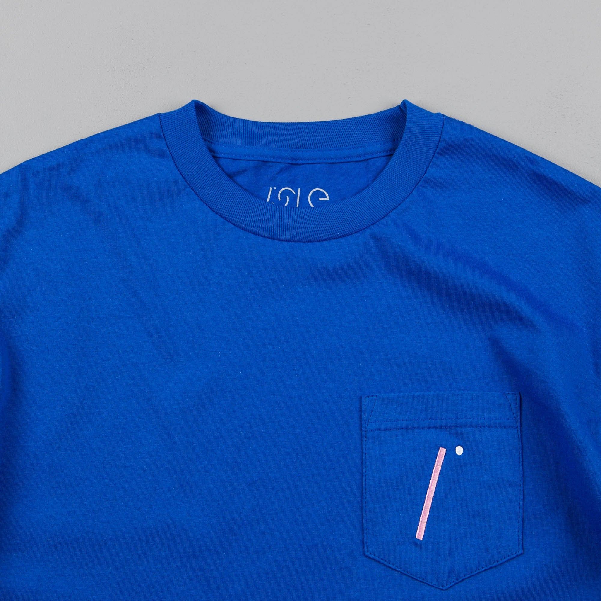 Isle I Logo Pocket T-Shirt - Royal