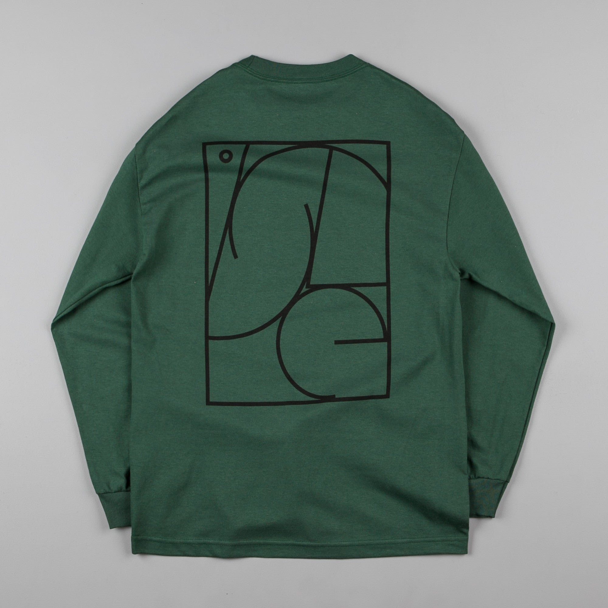 Isle Jigsaw Long Sleeve T-Shirt - Green