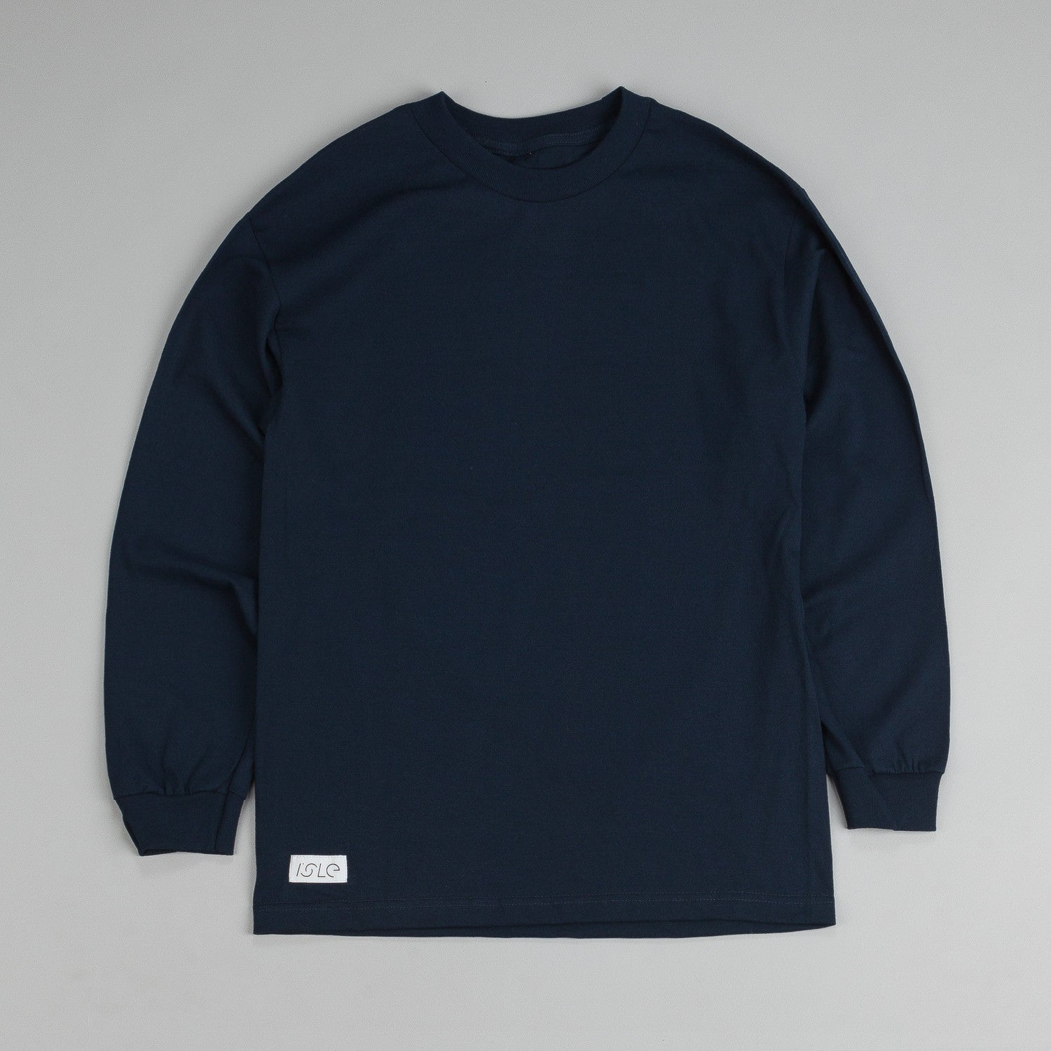 Isle Long Sleeve T Shirt Navy