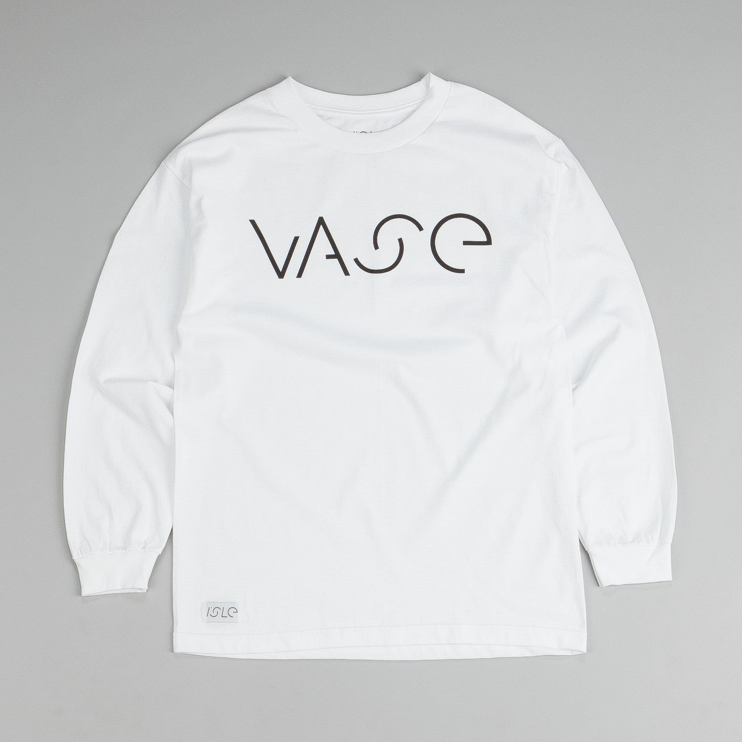 Isle Long Sleeve T Shirt Vase White